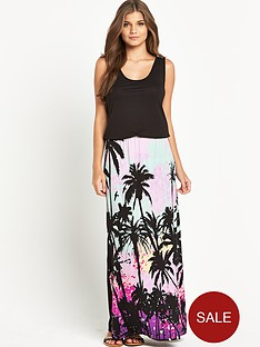 resort-petite-jersey-printed-maxi-dress