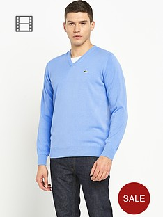 lacoste-mens-plain-v-neck-knit