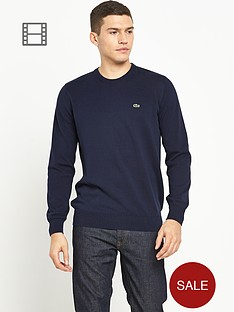 lacoste-mens-plain-navy-crew-knit