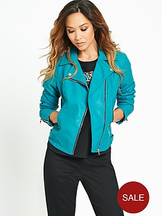 myleene-klass-leather-look-biker-jacket