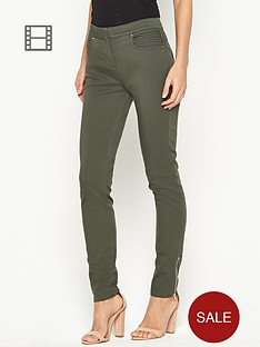 wallis-pinstitch-yoke-skinny-jeans