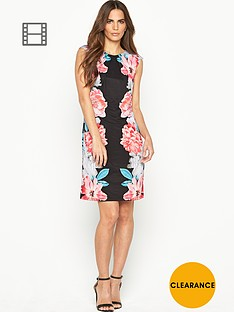 wallis-multi-flower-mirror-dress