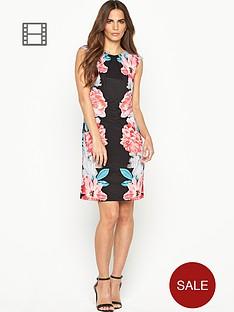 wallis-multi-flower-mirror-dress