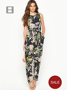 wallis-tropical-print-woven-jumpsuit