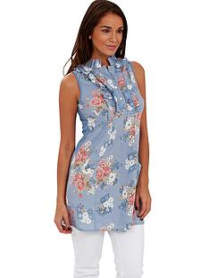 joe-browns-ruffle-rose-print-tunic