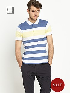 french-connection-stripe-polo-shirt