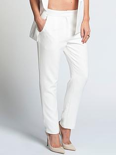 lauren-pope-white-suit-trousers