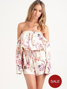 lauren-pope-vintage-bardot-playsuit