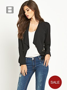 lipsy-zip-lightweight-blazer