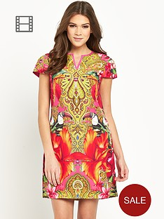 ted-baker-paisley-toucan-tunic-dress