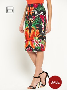 ted-baker-tropical-toucan-pencil-skirt