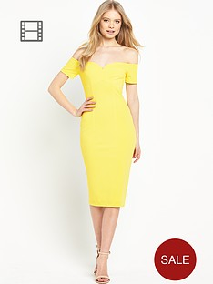 miss-selfridge-sweetheart-bardot-dress
