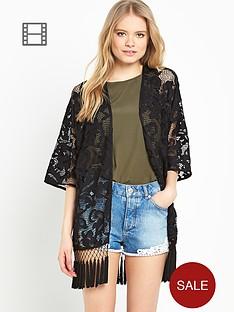 miss-selfridge-lace-kimono