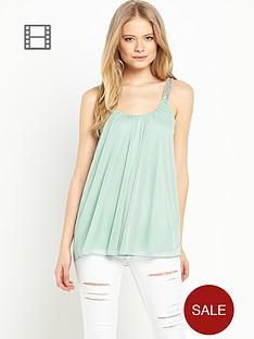 miss-selfridge-embellished-strap-cami