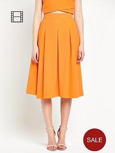 miss-selfridge-crepe-midi-skirt