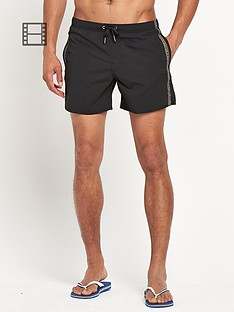 armani-mens-tape-logo-swim-shorts