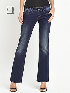 g-star-raw-3301-comfort-bloom-bootcut-jeans