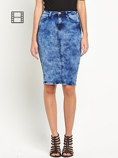 south-denim-tube-skirt