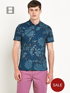 ted-baker-mens-large-floral-print-short-sleeve-shirt