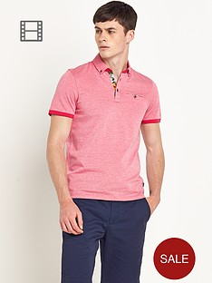 ted-baker-mens-short-sleeved-oxford-polo-shirt