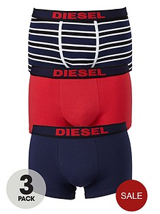 diesel-mens-plainstripe-boxer-trunks-3-pack