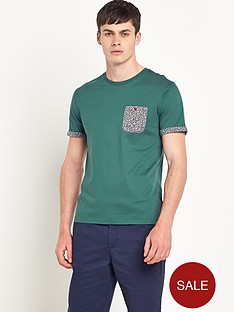 ted-baker-mens-leaf-print-cuff-crew-neck-t-shirt
