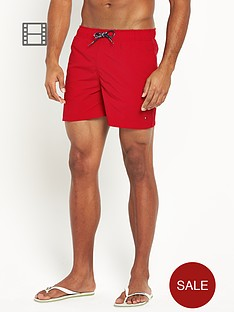 tommy-hilfiger-mens-solid-swim-shorts