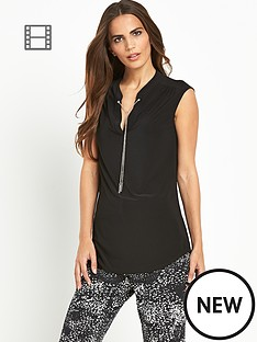 wallis-chain-collar-sleeveless-shirt