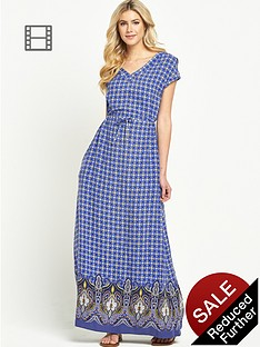 south-v-neck-paisley-print-maxi-dress