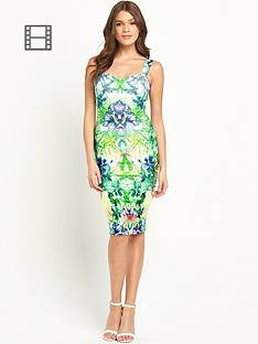 lipsy-printed-strappy-dress