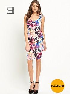 lipsy-jungle-print-bardot-bodycon-dress