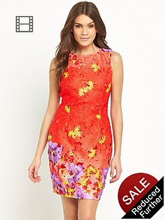 lipsy-lace-print-dress