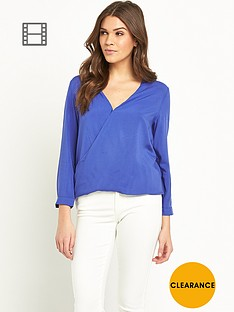 glamorous-crossover-blouse