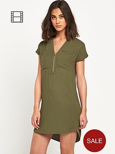 warehouse-zip-front-crepe-dress