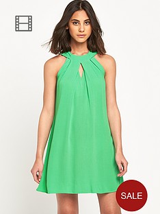 warehouse-halter-neck-dress