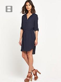 warehouse-tie-waist-shirt-dress