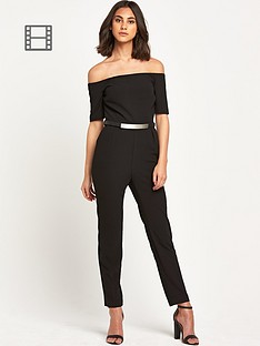 warehouse-off-shoulder-jumpsuit