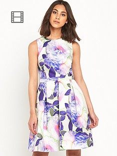 warehouse-fluro-floral-prom-dress