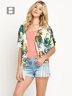 south-tropical-print-fringed-kimono