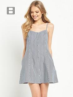 miss-selfridge-ticking-stripe-dress