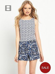 miss-selfridge-printed-layer-playsuit