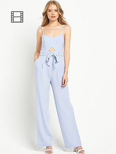 miss-selfridge-wide-leg-tie-jumpsuit