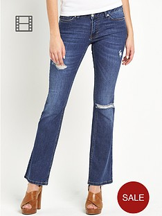 south-sienna-ripped-kickflare-jeans