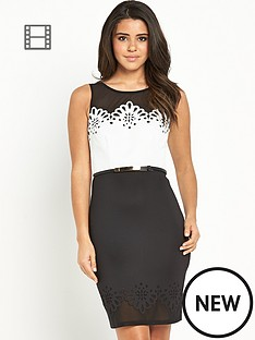 lipsy-mono-laser-cut-dress