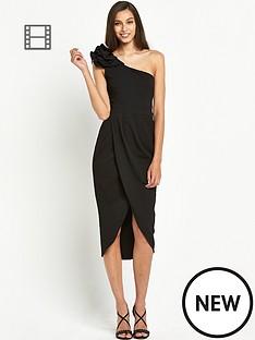 tfnc-isabelle-one-shoulder-wrap-dress