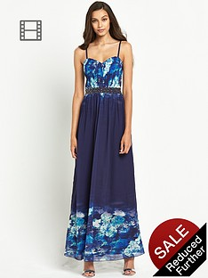 little-mistress-floral-bust-embellished-waist-maxi-dress