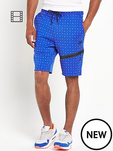 nike-mens-tech-all-over-dot-fleece-shorts