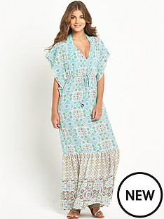 resort-printed-batwing-woven-beach-maxi-dress