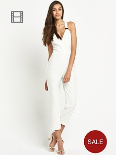 miss-selfridge-gold-trim-jumpsuit
