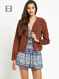 miss-selfridge-collarless-jacket